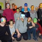 Potańcówka w maskach